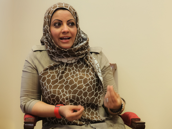 Dr. Zainab Ali Said Al-Qasmiah im Interview mit Arab Forum