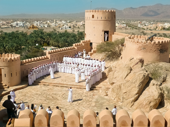 40. Nationalfeiertag im Oman